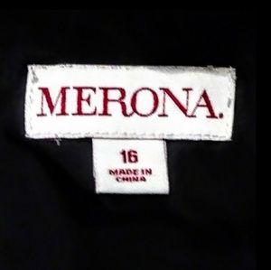 Merona Dresses - Merona Sleeveless Black and White Career Dress